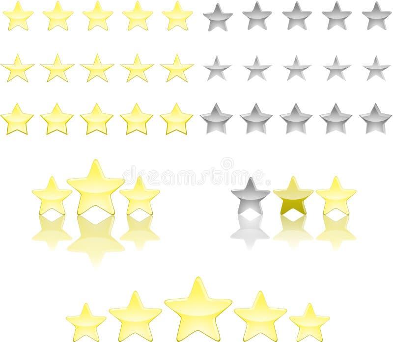 Download Star ratings stock illustration. Illustration of class - 26540097