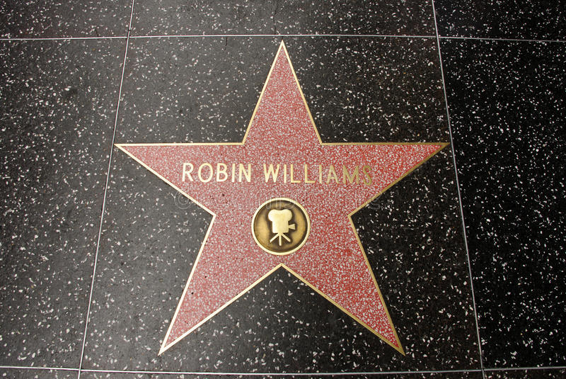 Download The star of Robin Williams editorial photography. Image of legend - 20900037