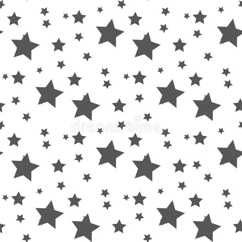 Star seamless pattern. Cute kids star seamless pattern. Seamless patter with stars. Star background. Babies fashion. Vector illustration, eps 10 stock illustration