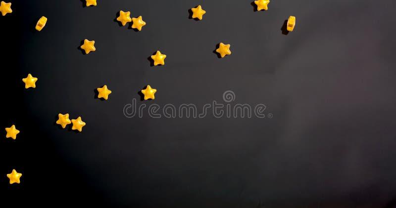 Star shaped sugar candies royalty free stock photo