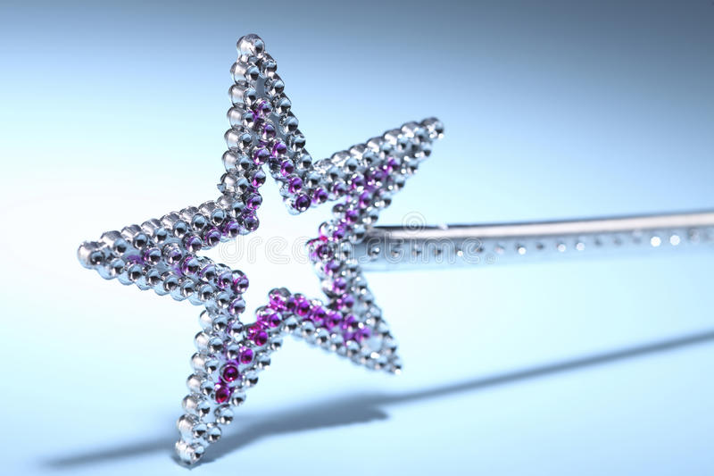 Star Shaped Wand royalty free stock photo