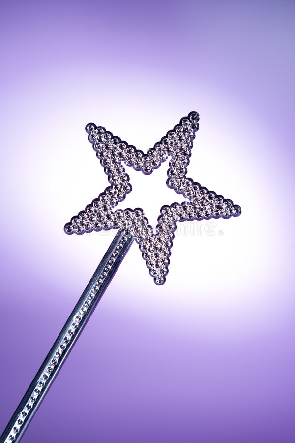 Star Shaped Wand stock photography