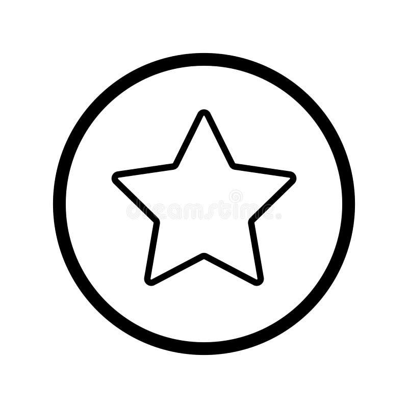 Star simple vector icon black and white illustration of star download star simple vector icon black and white illustration of star outline linear icon sciox Gallery