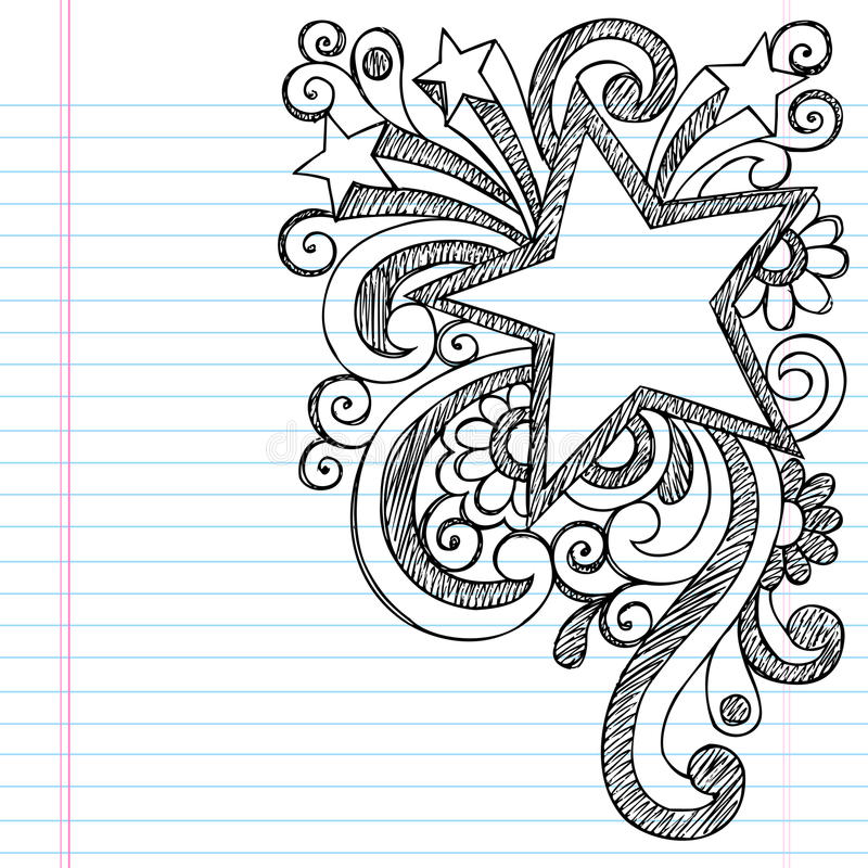 Free Star Sketchy Doodle Picture Frame Vector Design Stock Photo - 27917120