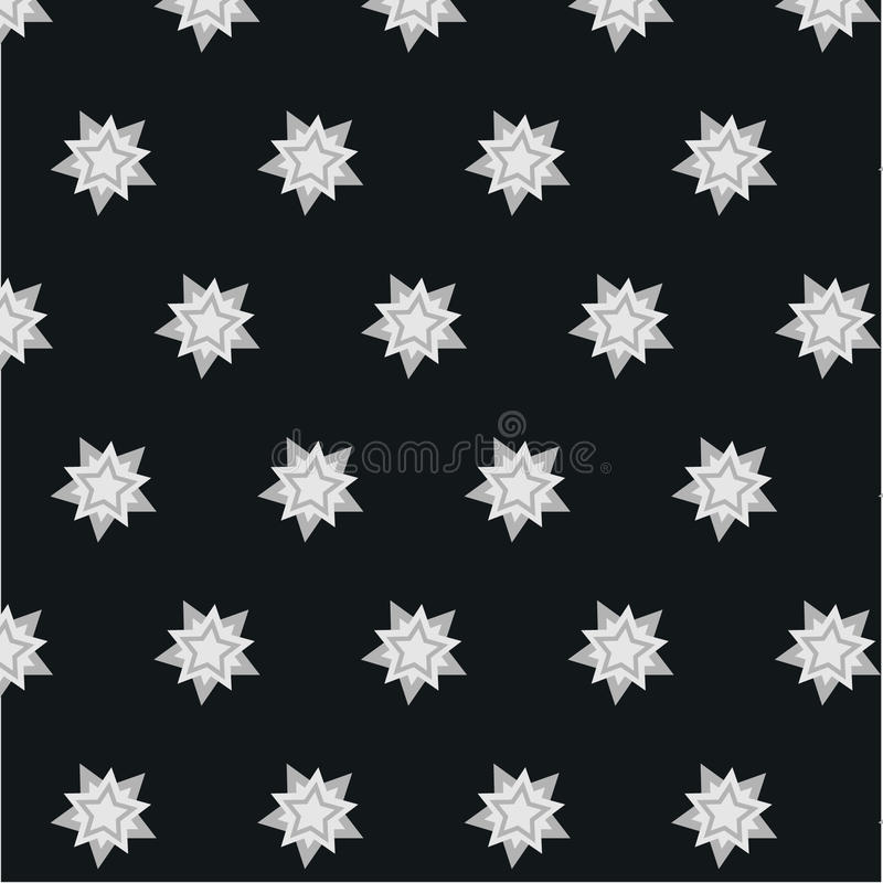 Star snowflake bright contrasting pattern background stock photos