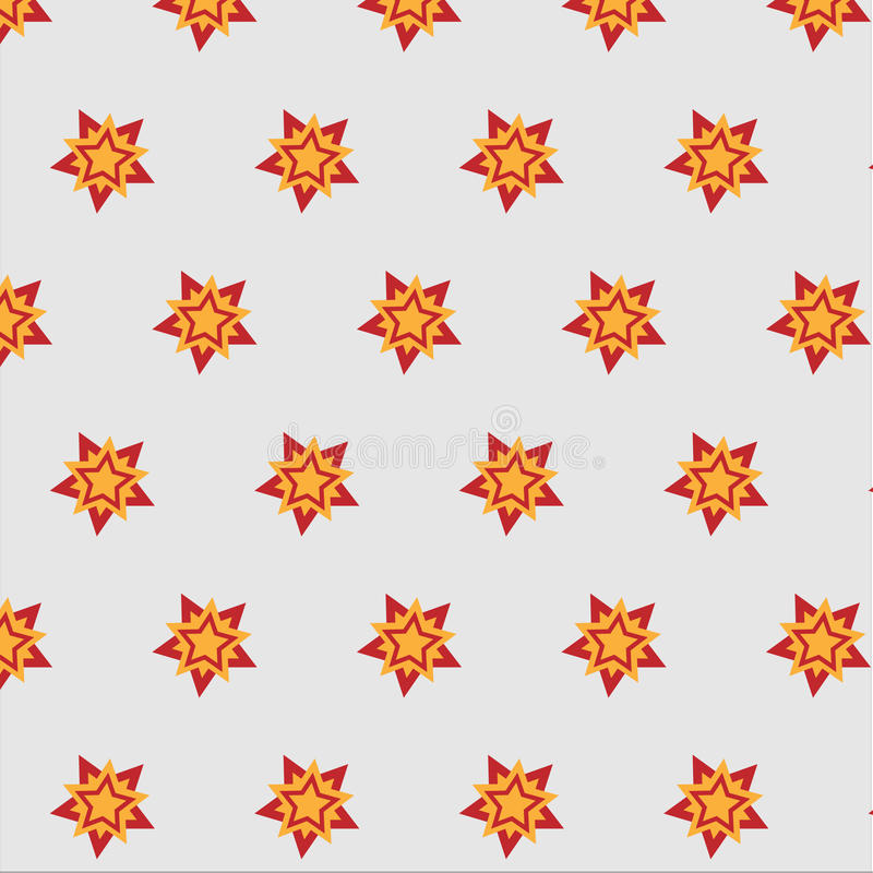 Star snowflake bright contrasting pattern background stock images