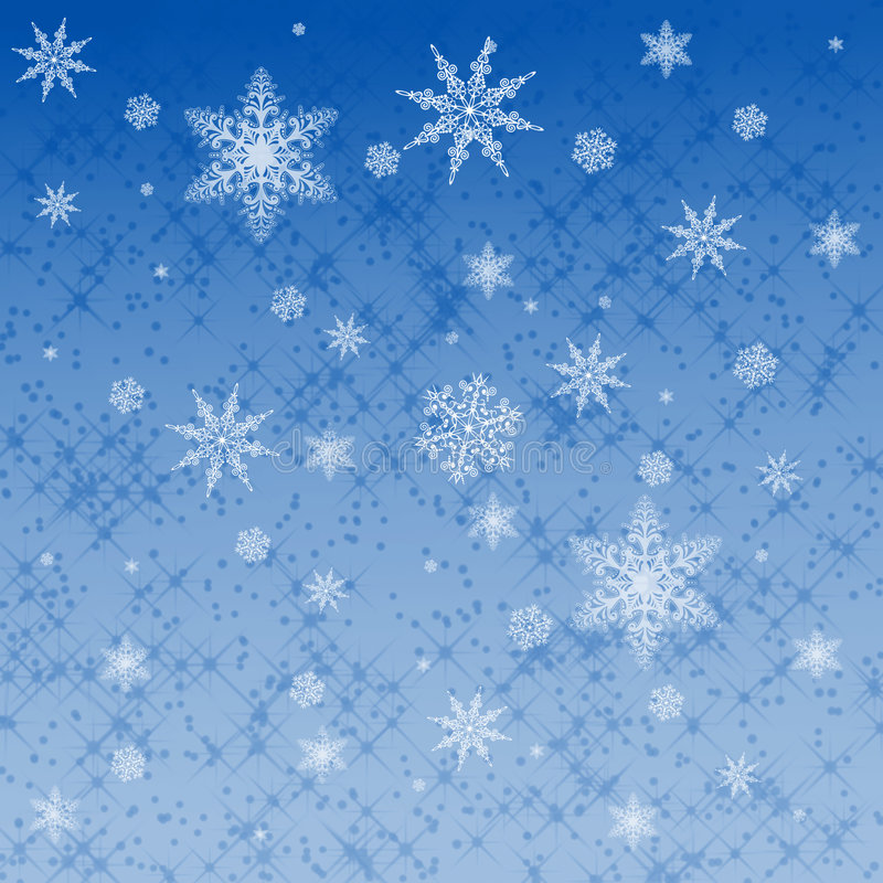 Download Star and snowflake pattern stock illustration. Image of abstract - 7988237