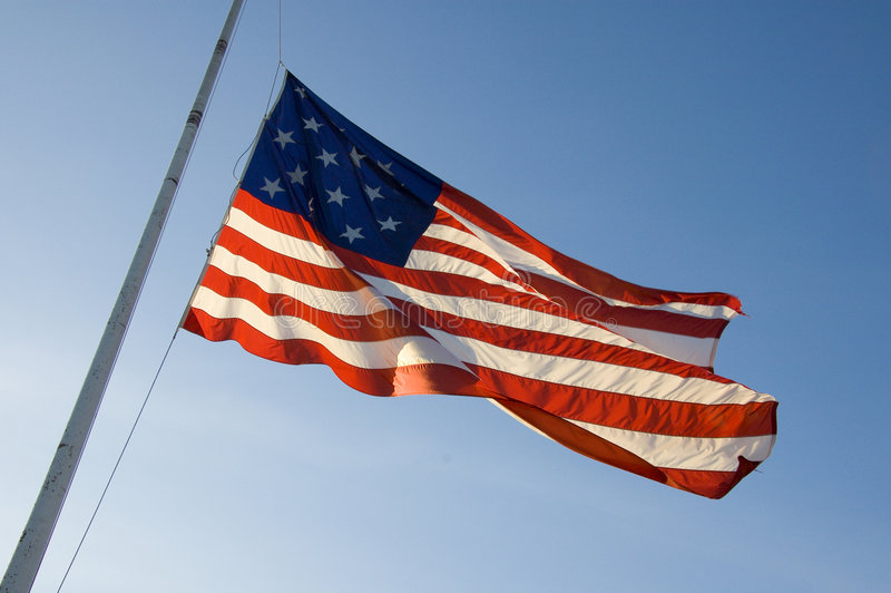 Download Star Spangled Banner stock image. Image of wind, banner - 1713973