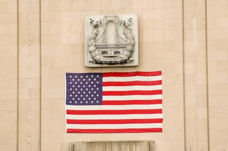 Star Spangled Banner. Taken in New York stock photography