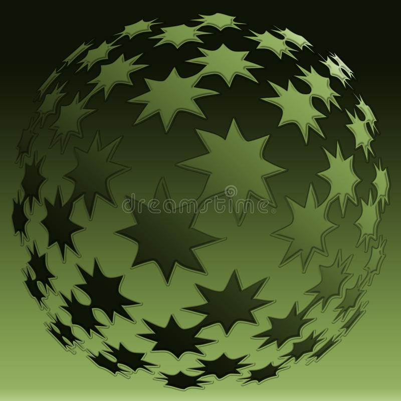 Download Star sphere stock illustration. Illustration of banner - 8889839