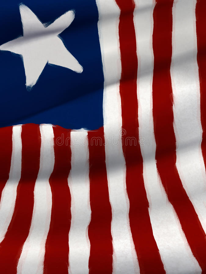Download Star And Stripes Flag - Digital Painting Stock Illustration - Image: 22223480