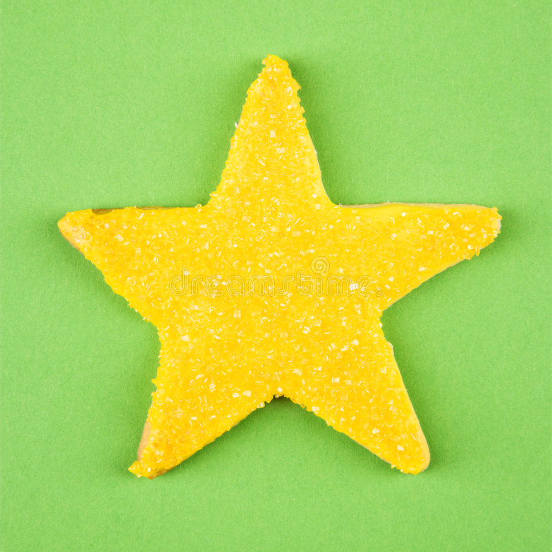 Download Star Sugar Cookie. Stock Photos - Image: 3533483