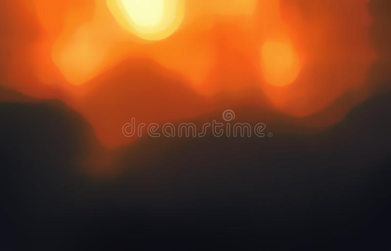 Star, sun, supernova, fire and explosion. Star, sun, supernova, fire and explosion bursts blurred illustration with rays of orange and yellow light for stock photos