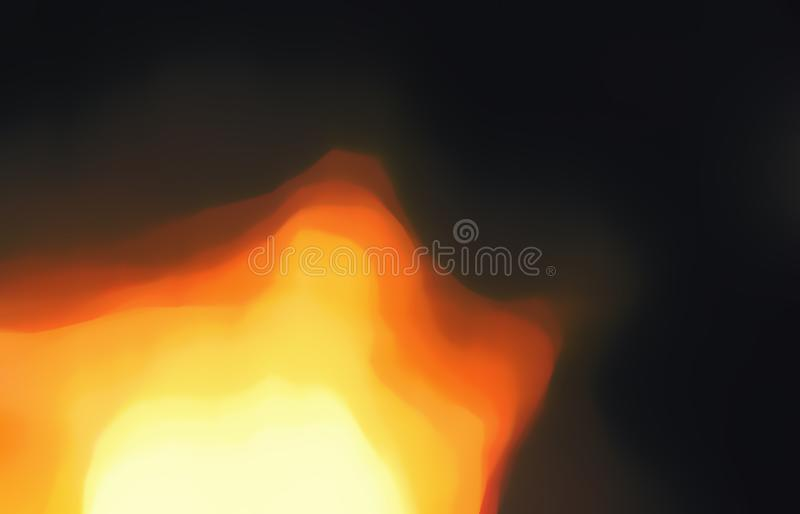 Star, sun, supernova, fire and explosion. Star, sun, supernova, fire and explosion bursts blurred illustration with rays of orange and yellow light for royalty free stock photography
