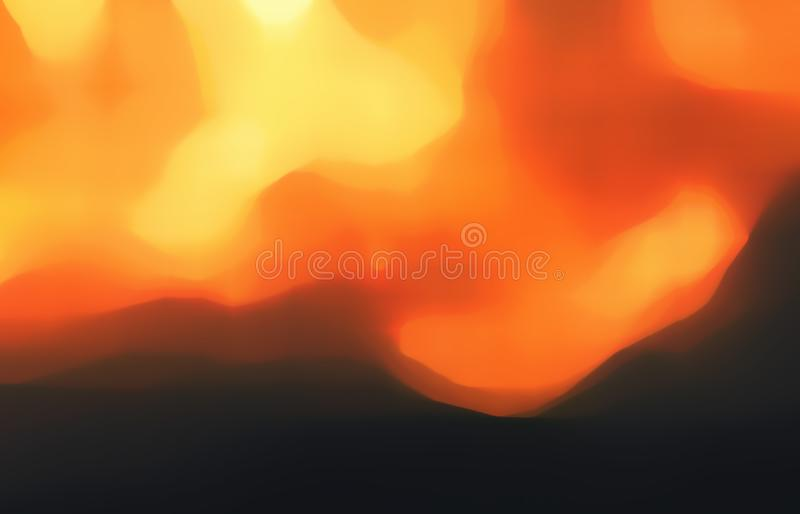 Star, sun, supernova, fire and explosion. Star, sun, supernova, fire and explosion bursts blurred illustration with rays of orange and yellow light for stock photography