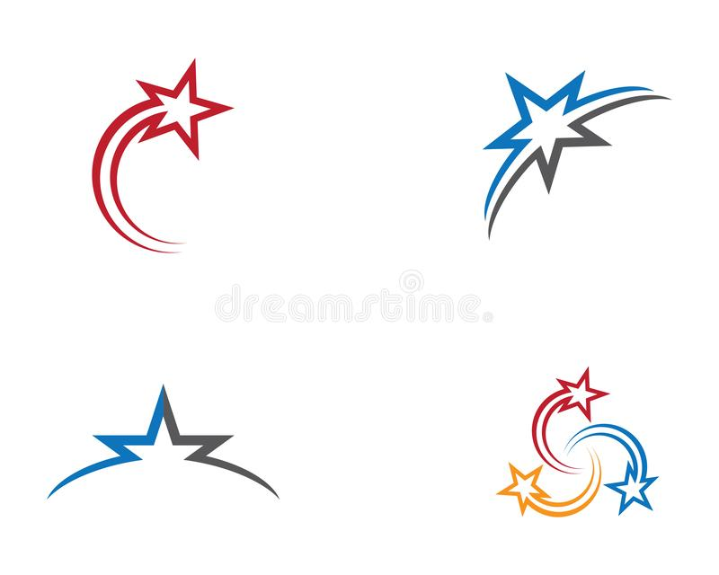 Star symbol illustration. Star logo template vector icon illustration design, gold, light, space, astronomy, sky, night, air, arrow, brand, branding, business vector illustration