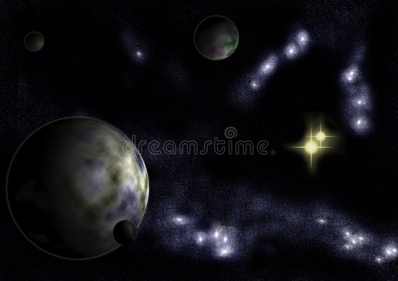 Download Star System Altar stock illustration. Image of abstract - 8142016