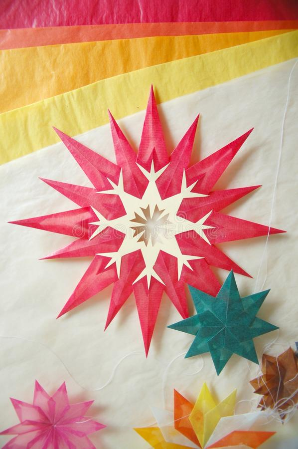 Star and tracing paper