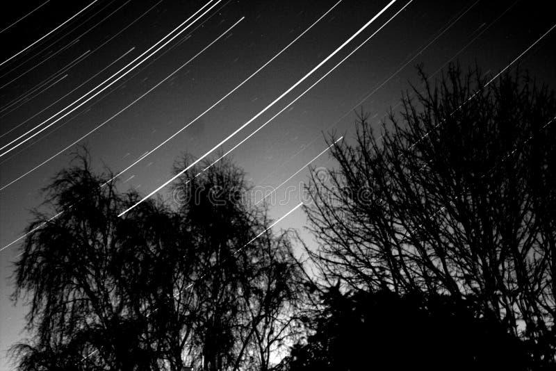 Star Trails Ipswich Suffolk stock photo