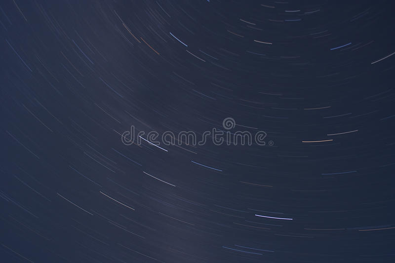Star Trails Space Royalty Free Stock Photos