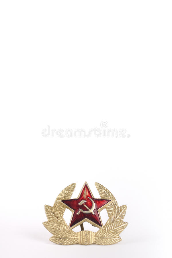 Star Of The USSR Stock Photo