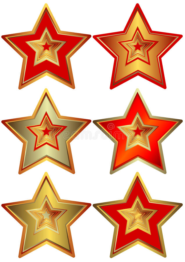 Star (vector) Collection of the stars (vector) vector illustration