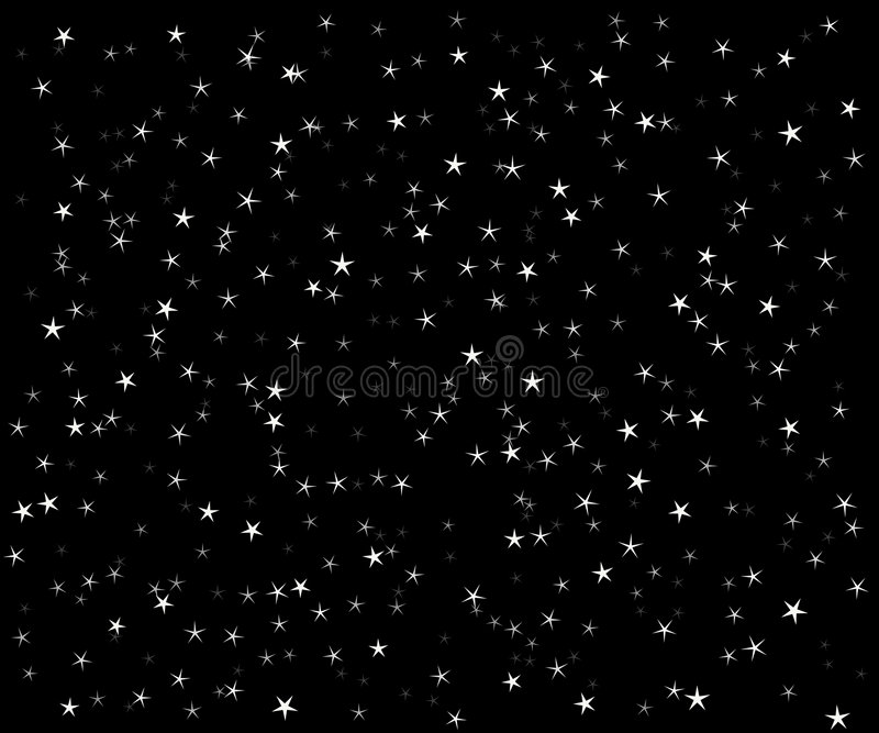 Download The star vector night sky stock vector. Illustration of night - 8658488