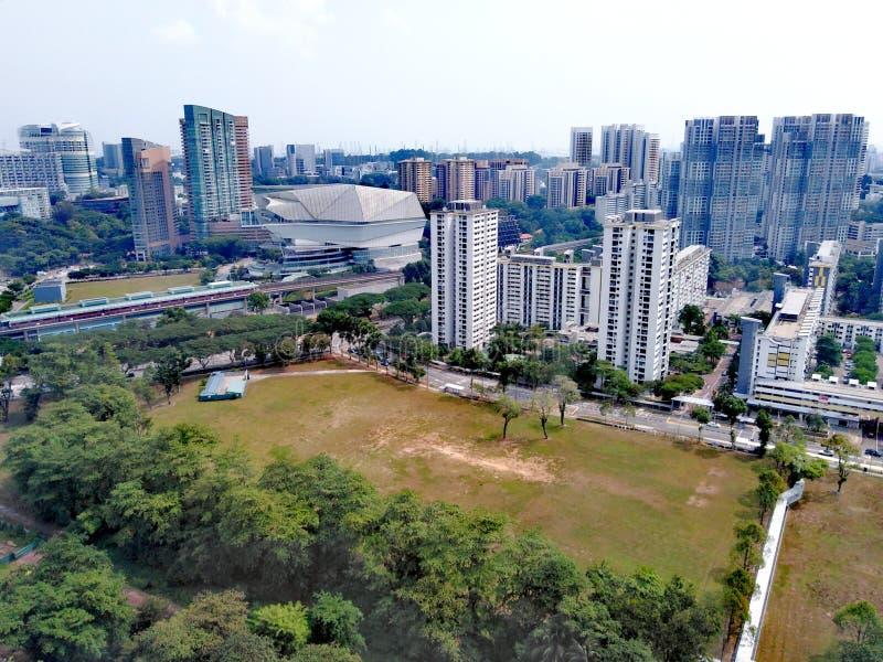 Star Vista στη Buona Vista, Σιγκαπούρη στοκ εικόνα με δικαίωμα ελεύθερης χρήσης