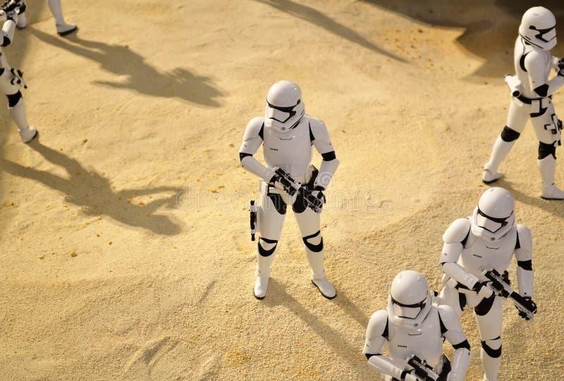 Star Wars brutal image stock