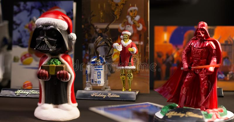 Star wars christmas stock photography