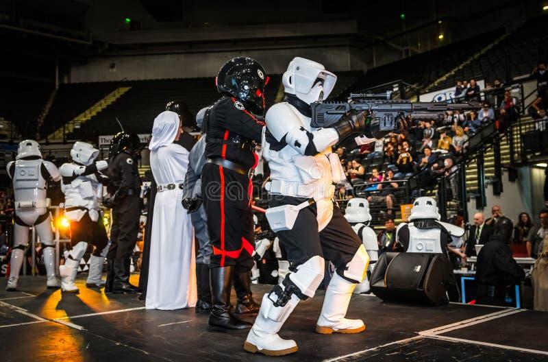 Star Wars Cosplay fotos de stock royalty free