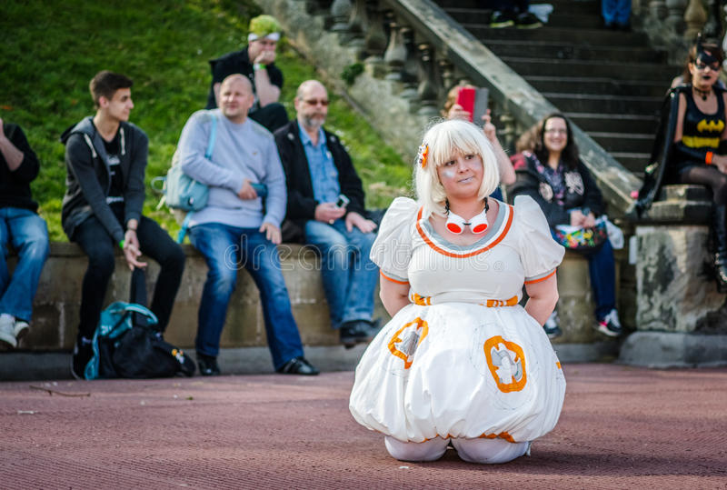 Star Wars Cosplay photographie stock