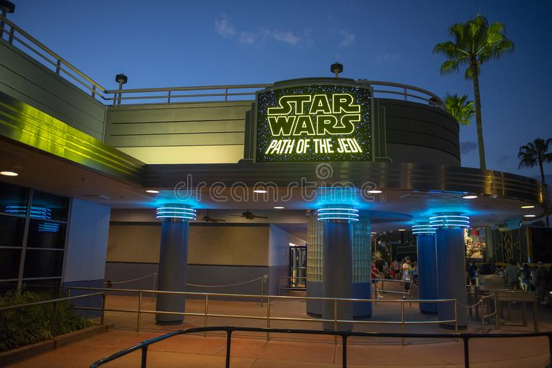 Star Wars, Disney World, Reis, Hollywood-Studio's royalty-vrije stock afbeelding
