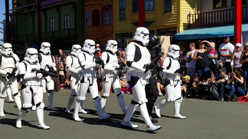 Star Wars filmu świat zdjęcia stock
