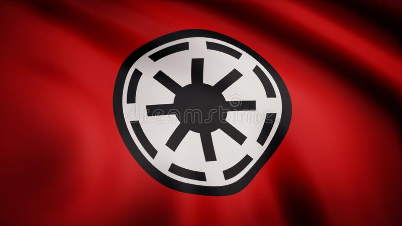 Star Wars Galactic Republic Symbol Logo Flag. Star Wars Galactic Republic Symbol Logo Flag. Editorial use only. Star Wars Galactic Republic Logo Flag. Star Wars royalty free illustration