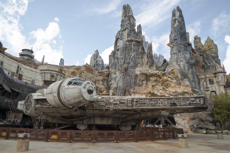 Star Wars galax kant, Hollywood studior, Disney World, arkivbild