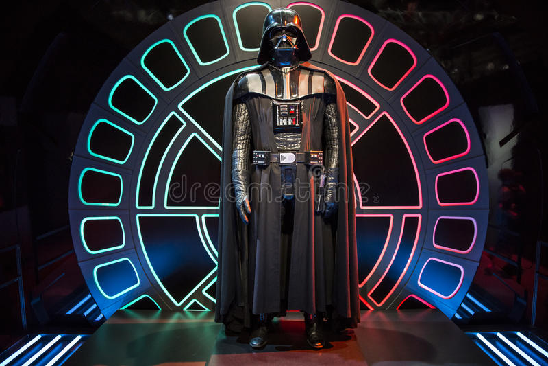 Star Wars Identities Exhibition in Ottawa stock photography