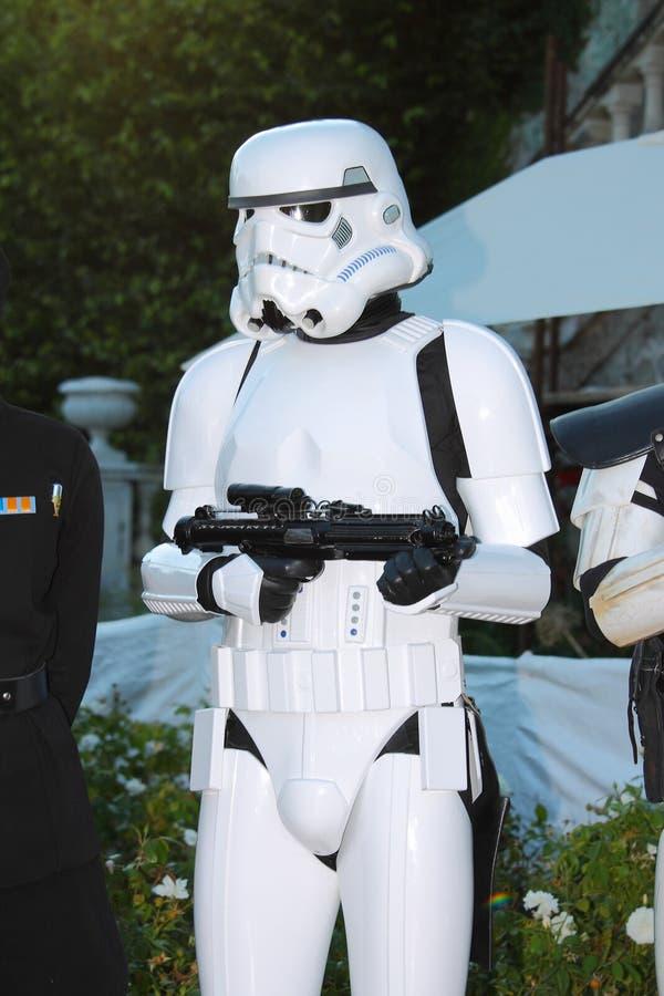 Star Wars-Karakter: Keizerwacht royalty-vrije stock foto's