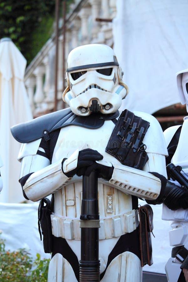 Star Wars-Karakter: Keizerwacht stock fotografie