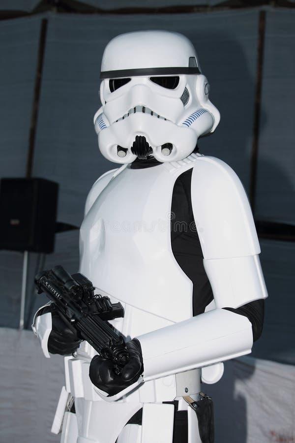 Star Wars-Karakter: Keizerwacht stock foto's