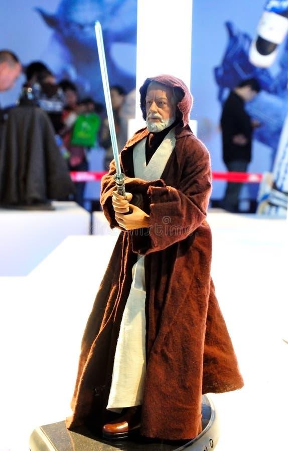 Star Wars Kenobi Brujería-Pálido principal imagen de archivo libre de regalías