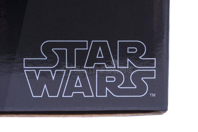 Star Wars logo arkivbilder