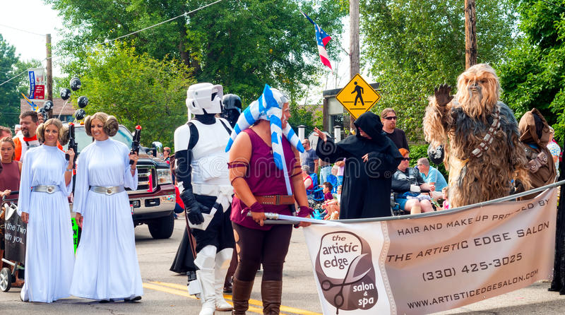 Star Wars-marchers royalty-vrije stock afbeeldingen