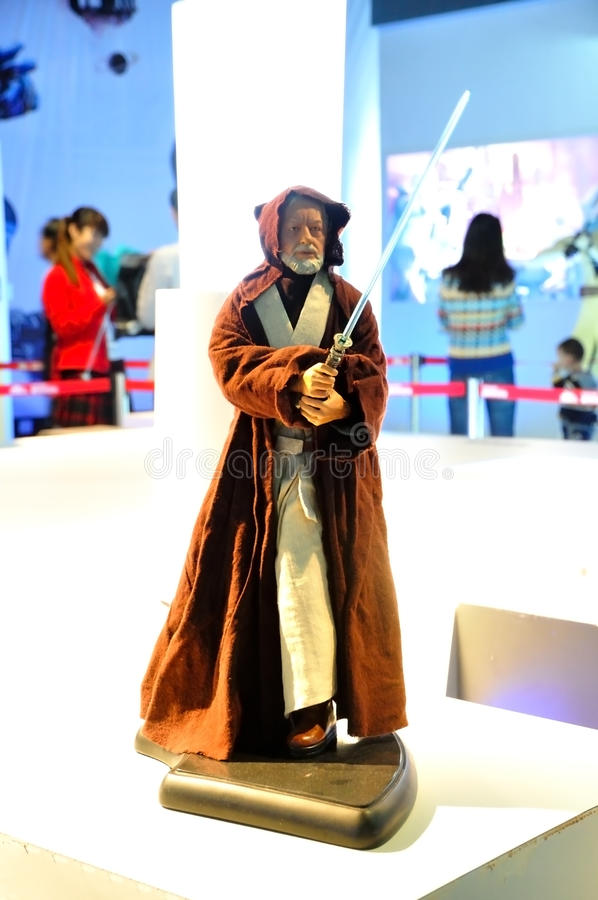 Download Star Wars Master Obi-Wan Kenobi Editorial Photo - Image of known, instructor: 27099161