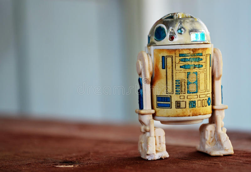Star Wars R2-D2 Toy Action Figure royalty free stock photo