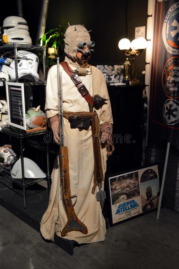 Star Wars Tusken Raider stock photo