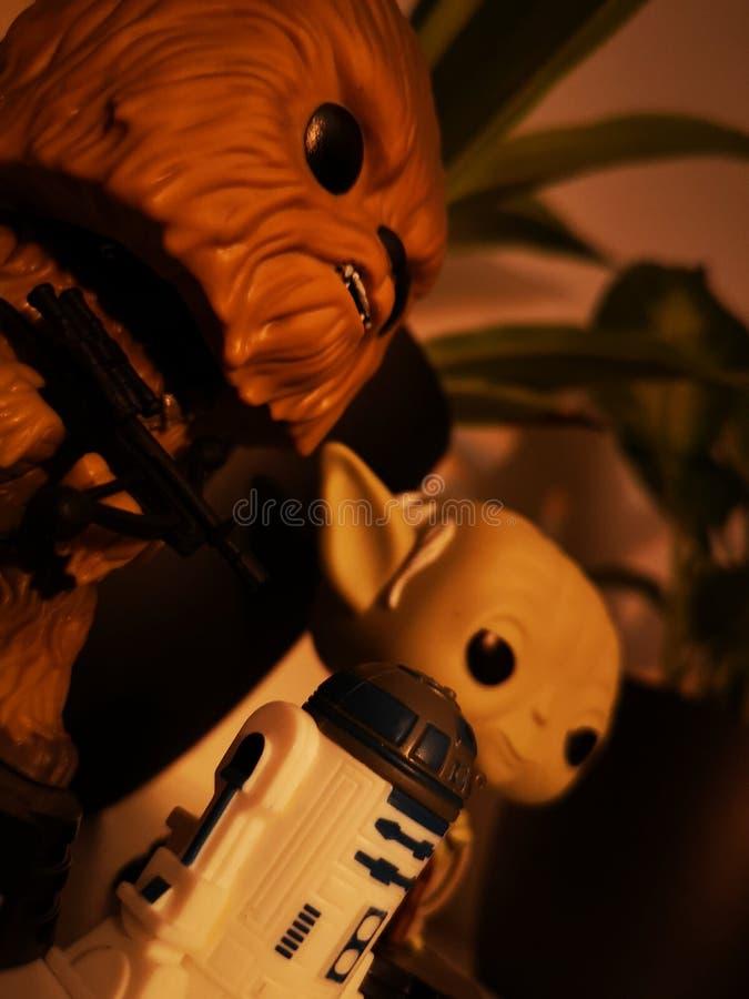 Star Wars stock foto's