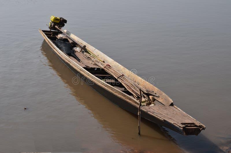 Stara łódź 01 obrazy royalty free