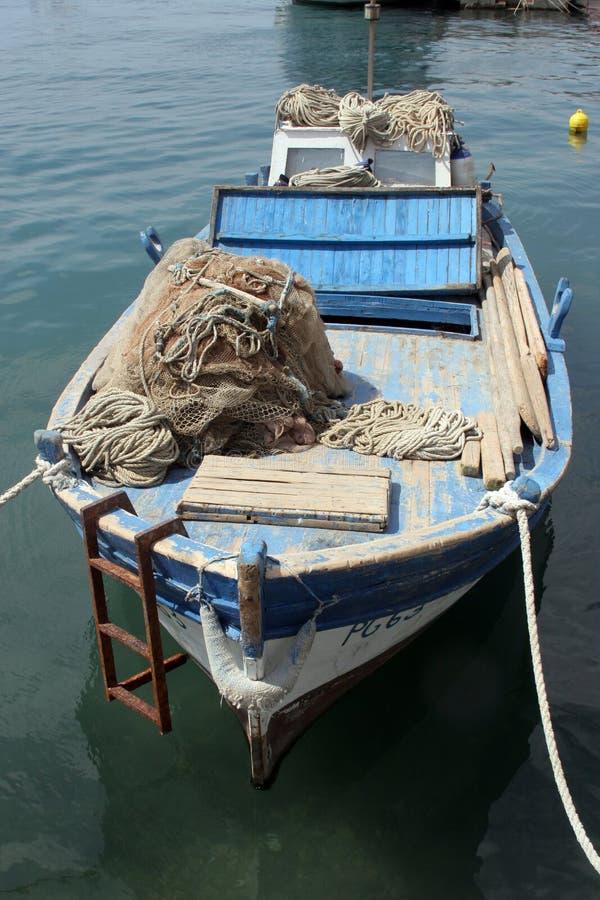stara łódź wiosłować obraz royalty free