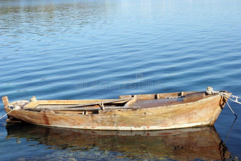 stara łódź wiosłować zdjęcia stock